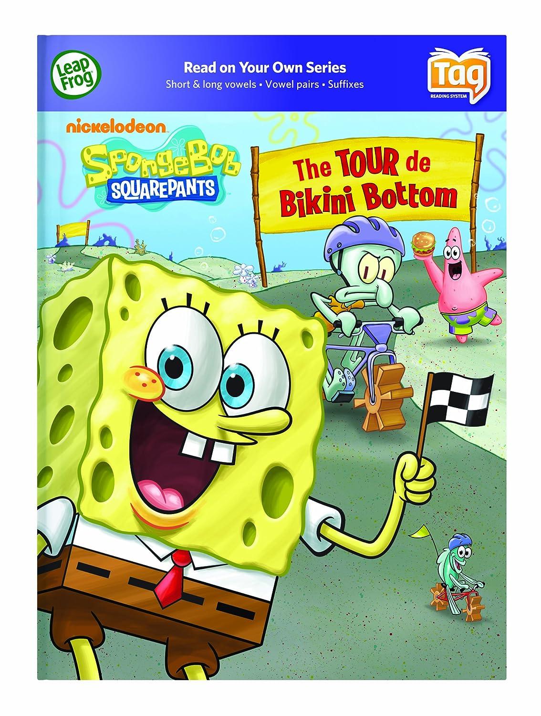 amazon com leapfrog tag activity storybook spongebob squarepants