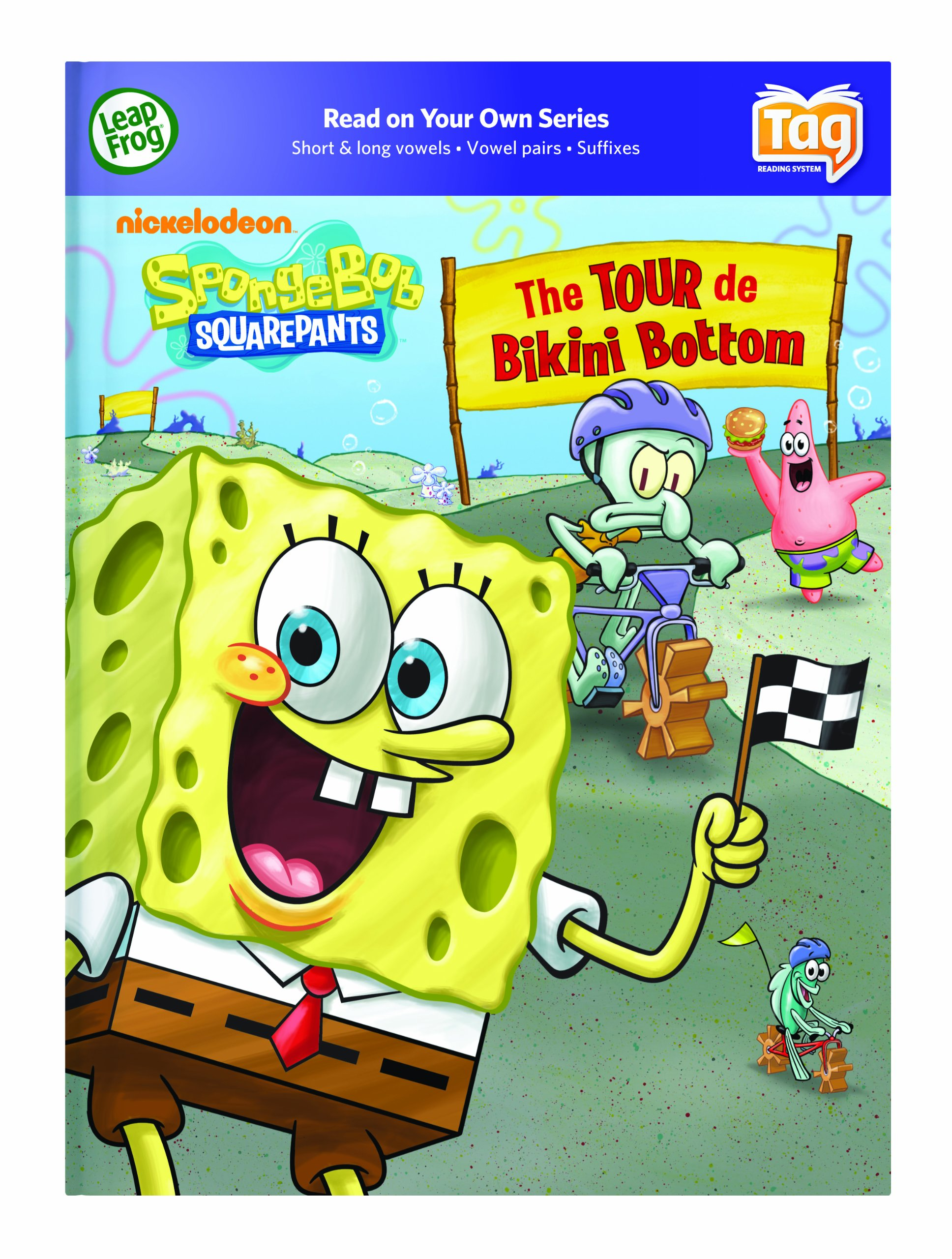 Leapfrog Tag Activity Storybook Spongebob Squarepants: The Tour De Bikini Bottom by LeapFrog (Image #4)