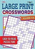 Large Print Crosswords Puzzle Book-Volume 119