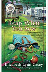 Reap What You Sew (Southern Sewing Circle Mysteries) Mass Market Paperback
