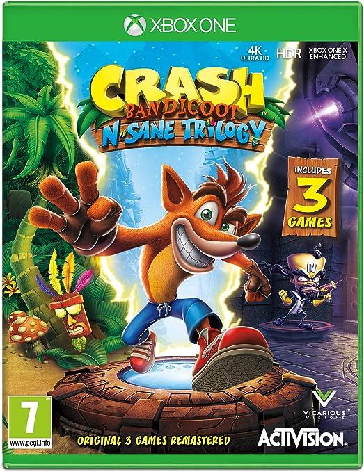 Crash Bandicoot NSane Trilogy - Xbox One [Importación inglesa ...