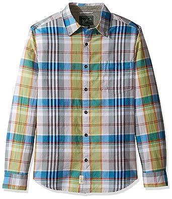 1ccc7dd3a38fcb Woolrich Men's Oak View Long Sleeve Eco Rich Modern Fit Shirt at Amazon  Men's Clothing store: