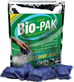 Walex BIO-11550 Bio-Pak Natural Holding Tank Deodorizer and Waste Digester, (Pack of 50)