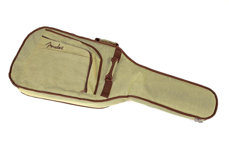 19640aed668 Fender 099-1512-155 Urban Strat/Tele Gig Bag Tweed Electric Guitar Case:  Amazon.co.uk: Musical Instruments