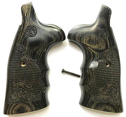 Amazon.com : Gun Grip Supply Smith & Wesson Grips S&W N Frame Grips ...