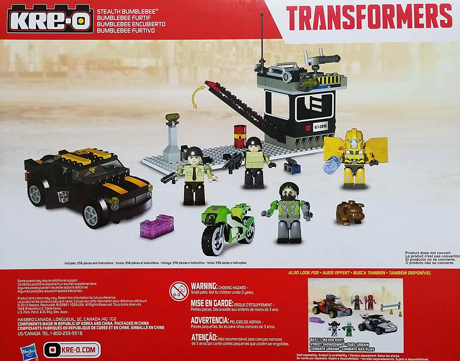 Amazon Kre O Transformers Stealth Bumblebee Building Set Toys