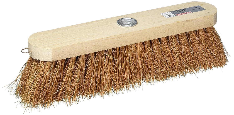 Bü rstenmann Straß enbesen mit Holz Kö rper und –  Kokos-Fasern, 30 cm Bürstenmann 2304585