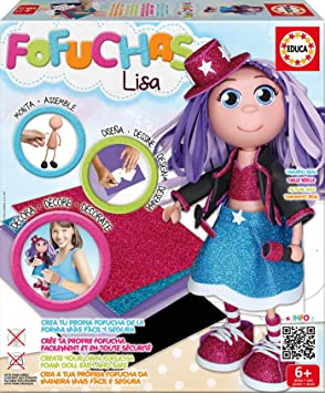 Oferta amazon: Educa Borrás - Fofucha Lisa, Pop Star (17262)