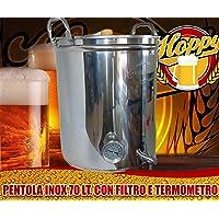 Hoppy - Olla para fabricar cerveza, filtro tipo