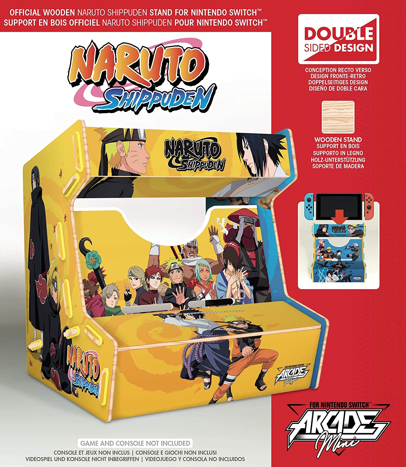 Meridiem Games - Naruto Arcade Mini (Nintendo Switch): Amazon.es ...
