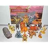 Disney The Lion Guard Deluxe Figure Set of 13 with Prince Kion, Cub Kiara, Bunga the Badger, Pumba, Timon, King Simba, 3 Hyenas and Many More!