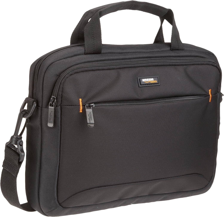 AmazonBasics - Funda para llevar del hombro ordenador portátil de 11,6 pulgadas (29,4 cm) e iPad, negro, 1 unidad