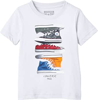 Converse Sneaker Stack Camiseta para Niños