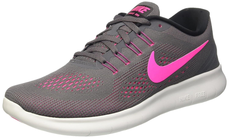 buty na tanie kupić fantastyczne oszczędności Nike Womens Free RN Running Shoes Dark Grey/Pink Blast 831509-006 Size 8