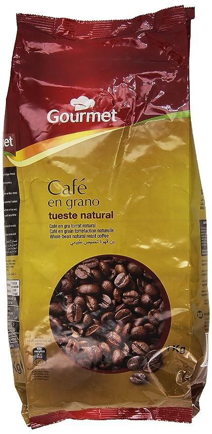 Gourmet Café en Grano Tueste Natural - 1 Kg: Amazon.es ...