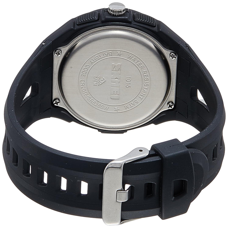 Buy Skmei Analog Digital Black Mens Watch Ad1015 Blk Dial Online At S Shock Sport Water Resistant 50m Dg1025 Low Prices In India