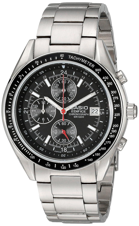 Casio Caballero EF503D-1AV Edifice Stainless Steel cron-grafo Reloj: Casio: Amazon.es: Relojes