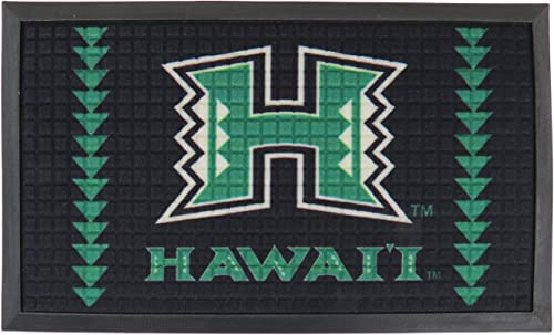 University of Hawaii Door Mat 30 X 18