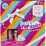 Party Popteenies - Cutie Animal Party Surprise Box Playset with Confetti, Exclusive Collectible Mini Doll and Accessories, for Ages 4 and Up