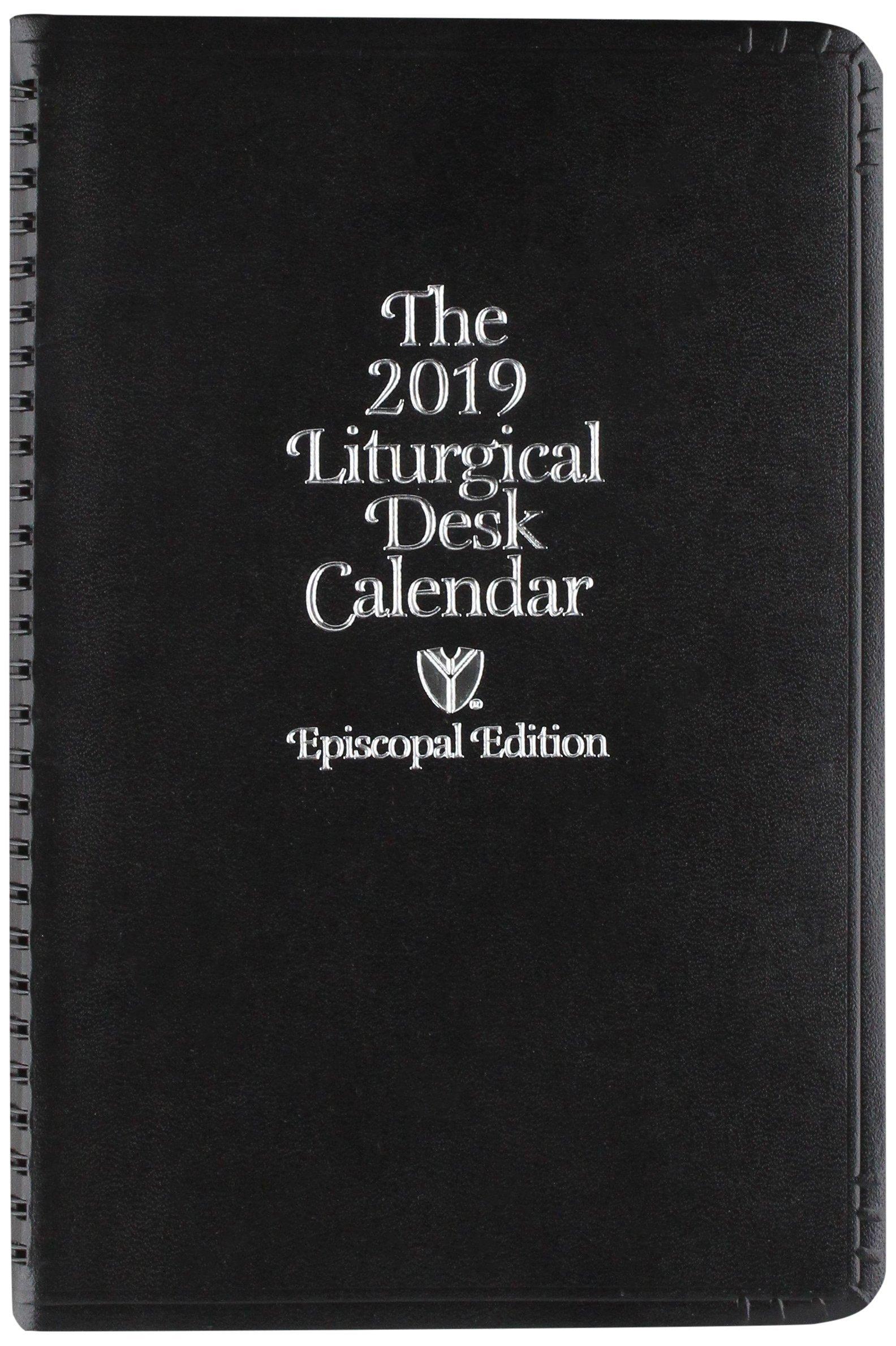 episcopal liturgical desk calendar 2019