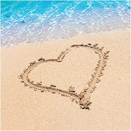 amazon com creative converting 16 count beach love 3 ply paper