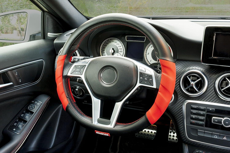 Rosso Sparco SPC1102L Coprivolante per Auto