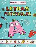 Letras mayúsculas (desde 3 años) (Castellano - Material Complementario - Grandes Cuadernos) - 9788421654187