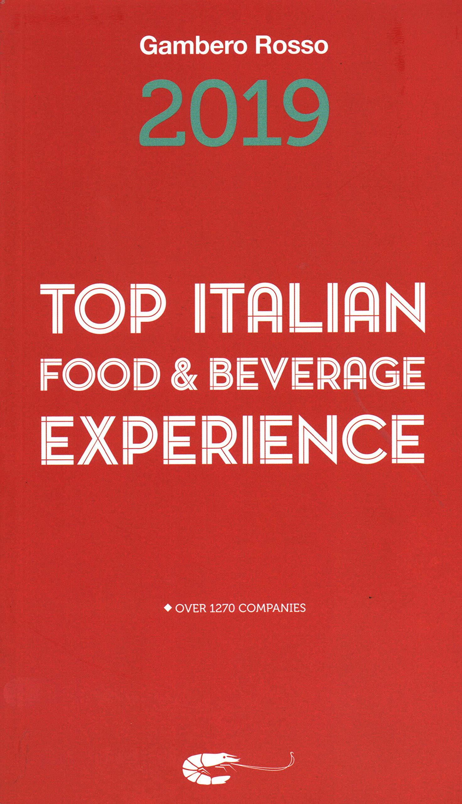 Top Italian Food & Beverage Experience 2019: Gambero Rosso