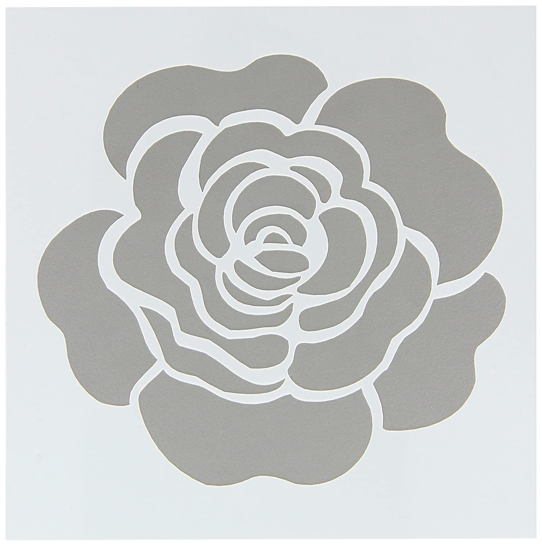 Amazon.com: FolkArt Painting Stencil, 30604 Single Rose