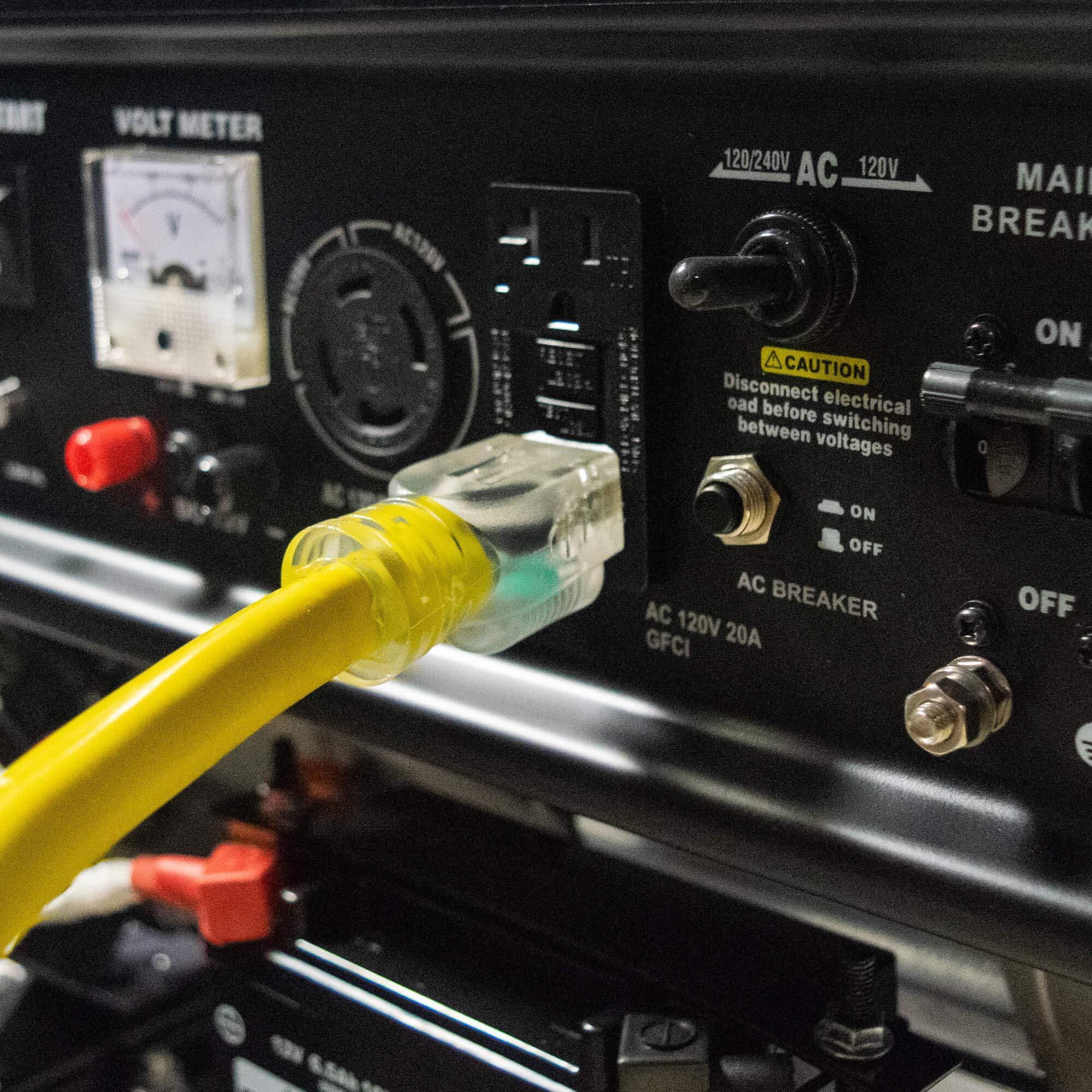 DuroMax Hybrid Dual Fuel XP4400EH 4,400-Watt Portable Generator by DuroMax (Image #14)