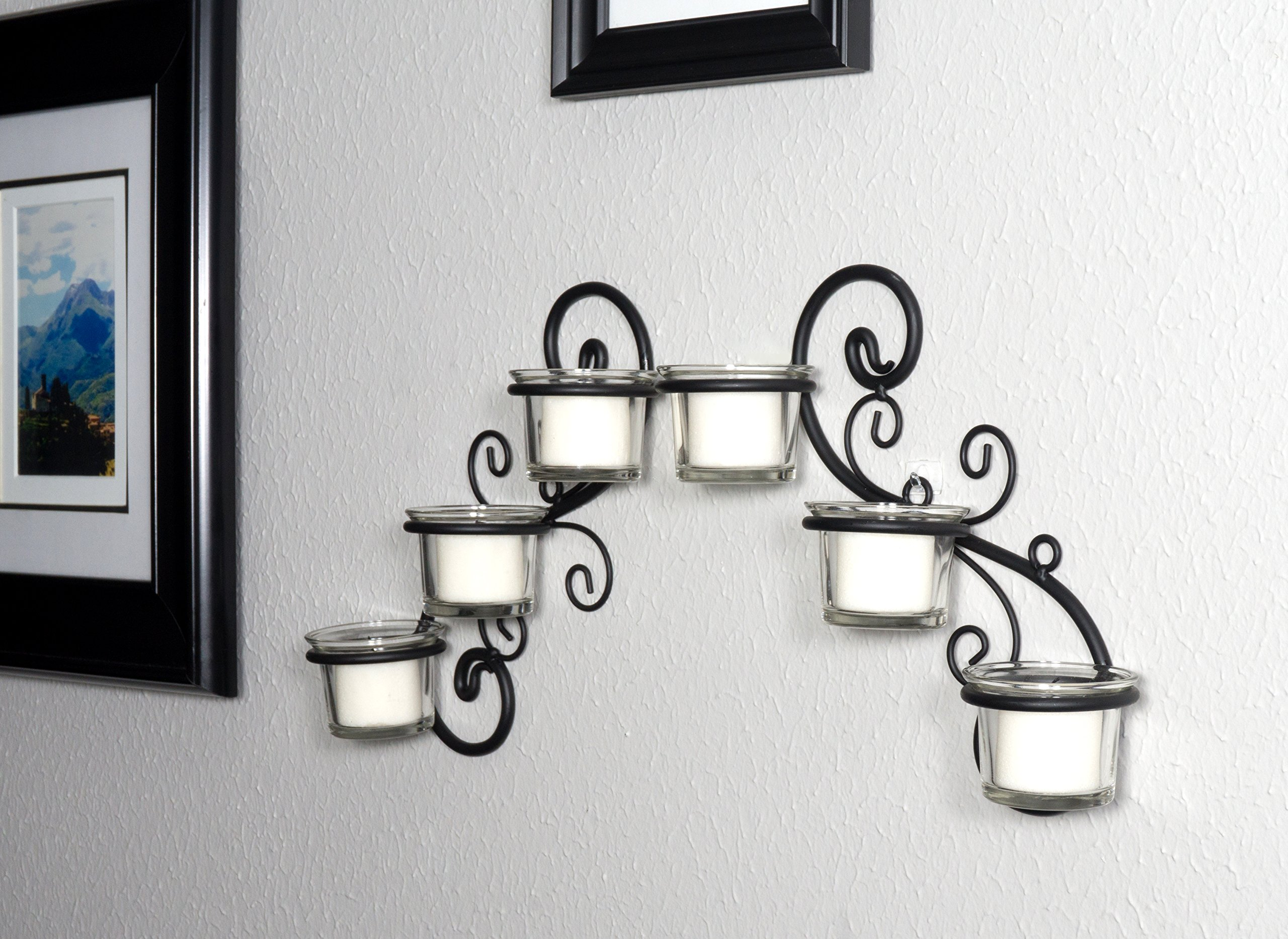 Candle Wall Sconces For Living Room: Stonebriar Decorative Tea Light Candle Holder