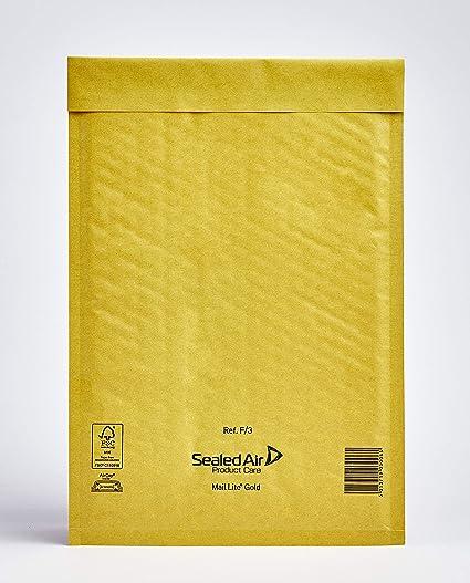 Mail Lite - Bolsas acolchadas, 220 X 330mm, F/3: Amazon.es ...