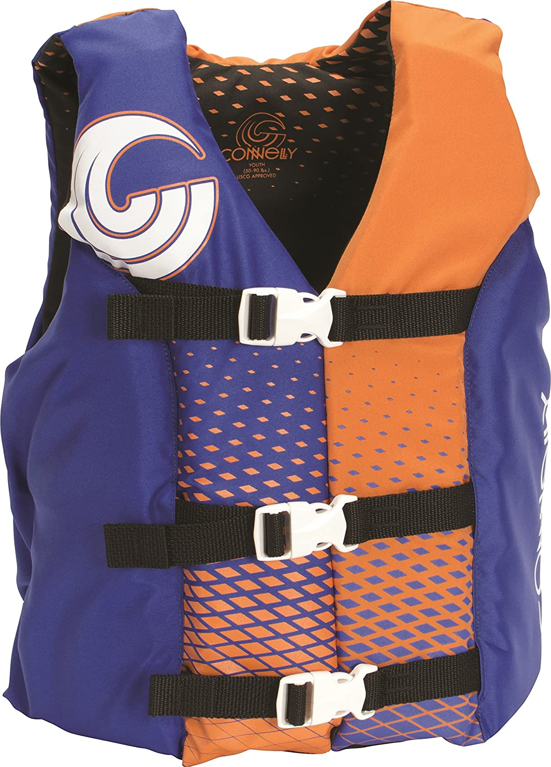 "CWB Connelly Youth Nylon Vest, 24\""-29\\\"" Chest; 50-90Lbs, Boy Tunnel"