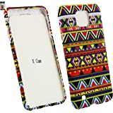 Emartbuy® Gel Skin Case Cover Aztec for LG X Cam