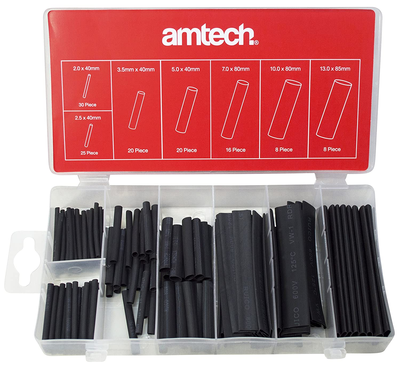 draper expert 35574 ratchet action terminal crimping tool amazon am tech heat shrink wire wrap assortment 127 pieces
