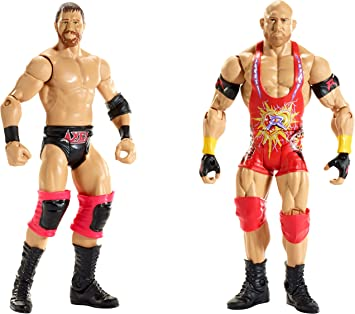 WWe Basic Figure 2 pack Battle Pack - Ryback & Curtis Axel: Amazon.es: Juguetes y juegos