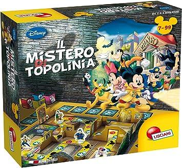 Lisciani Giochi – El Misterio de Mickey Mouse Juego para niños, 77519: Amazon.es: Juguetes y juegos