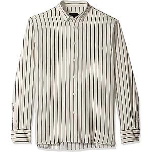 Zanerobe Men's Tri Stripe Zephyr Mens Short Cotton Linen