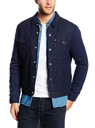 93045a11d Mens Levis Thermore Trucker Jacket In Denim