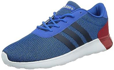 adidas Lite Racer, Sneakers basses hommes, - Blau-Rot-Weiß, 42