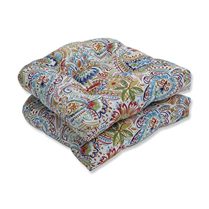 Amazon Com Pillow Perfect Indoor Outdoor Gilford Festival Wicker