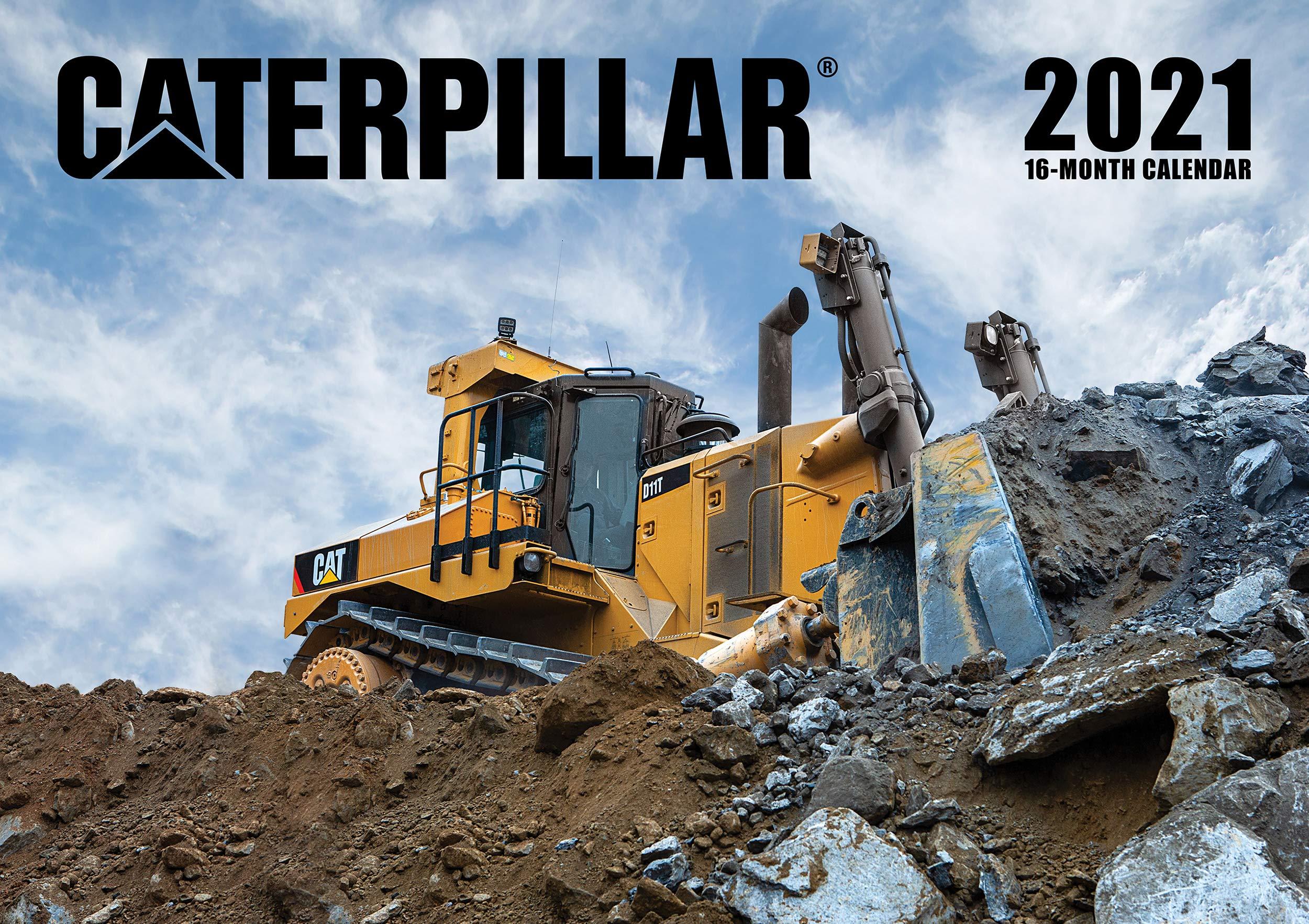 Caterpillar Calendar 2021: Lee Klancher, Lee Klancher