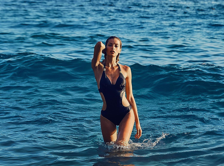 01dd3d9407 CharmLeaks Womens Sexy One Piece Cut Out Swimming Costume Backless Monokini  Swimwear Swimsuits