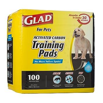 Glad para Mascotas de Carbón Activado Formación Almohadillas