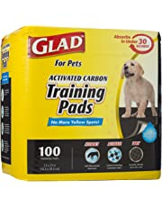 SKAFFLES FFP8654ST Glad 100 Count Pets Activated Carbon Training Pads