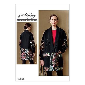 Vogue Mustern Vogue 1563 E5, Schnittmuster Jacke, Größen 14–22 ...