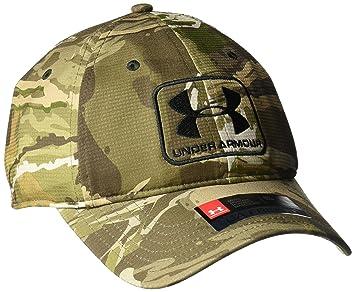 Amazon.com  Under Armour Men s Camo Stretch Fit Cap  Clothing 7185721296b