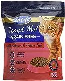 HiLife Tempt Me! Grain Free Cat Food Salmon & Ocean Fish '4 x 800g Bags'