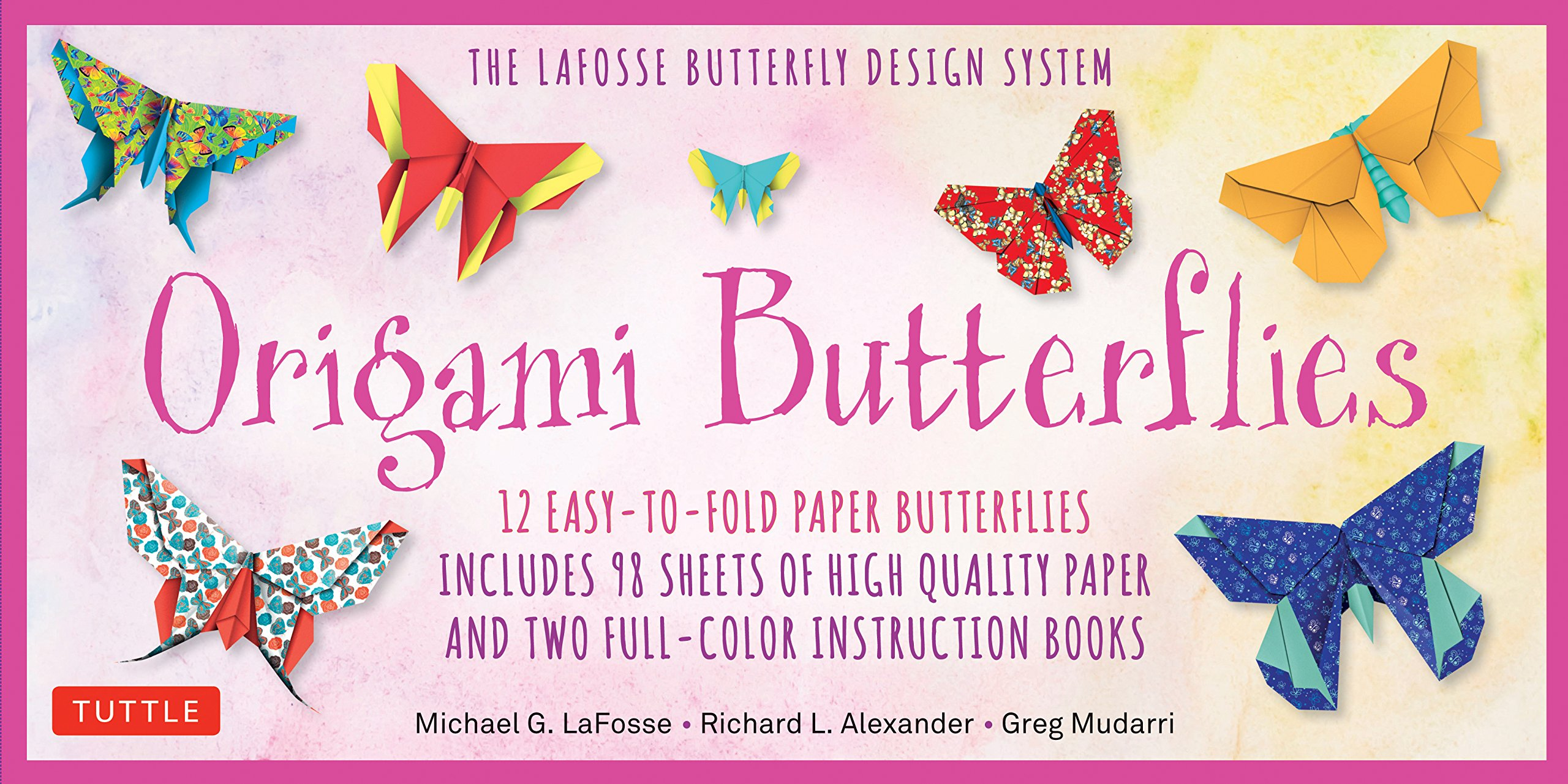 make origami easy instructions for kids: origami butterfly 2 | 1281x2560