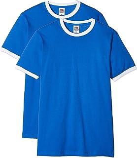 dd5f9e7ba33c3 Fruit of the Loom Ringer Premium T-Shirt Homme: Amazon.fr: Vêtements ...